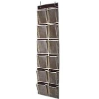 Сетчатые карманы для хранения подвесные корзины, сумка-органайзер для обуви, узкий держатель для двери, настенная полка