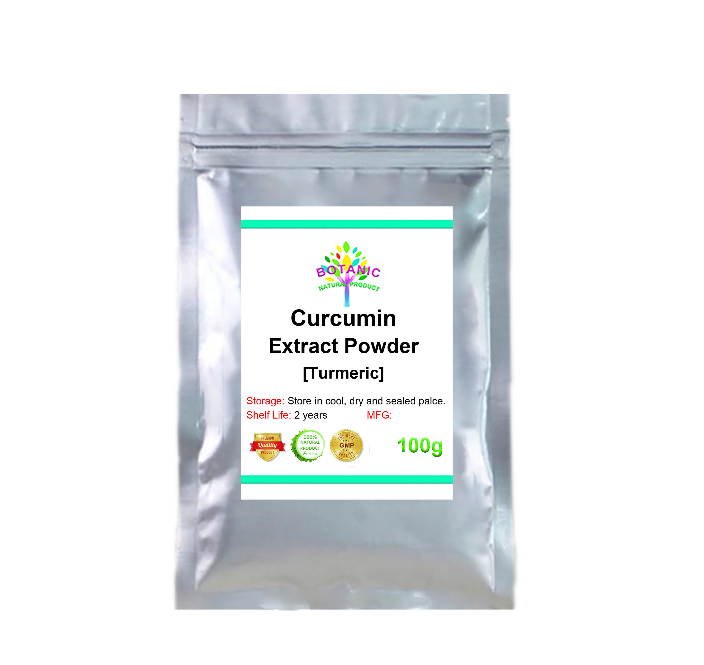 100-1000g curcumin root powder 100% organic fragrance curcumin