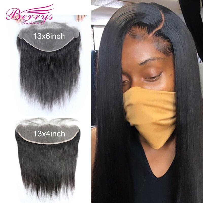 13x6 HD фронтальные прямые 13x4 прозрачные фронтальные бразильские натуральные волосы с отбеленными узлами предварительно выщипанные
