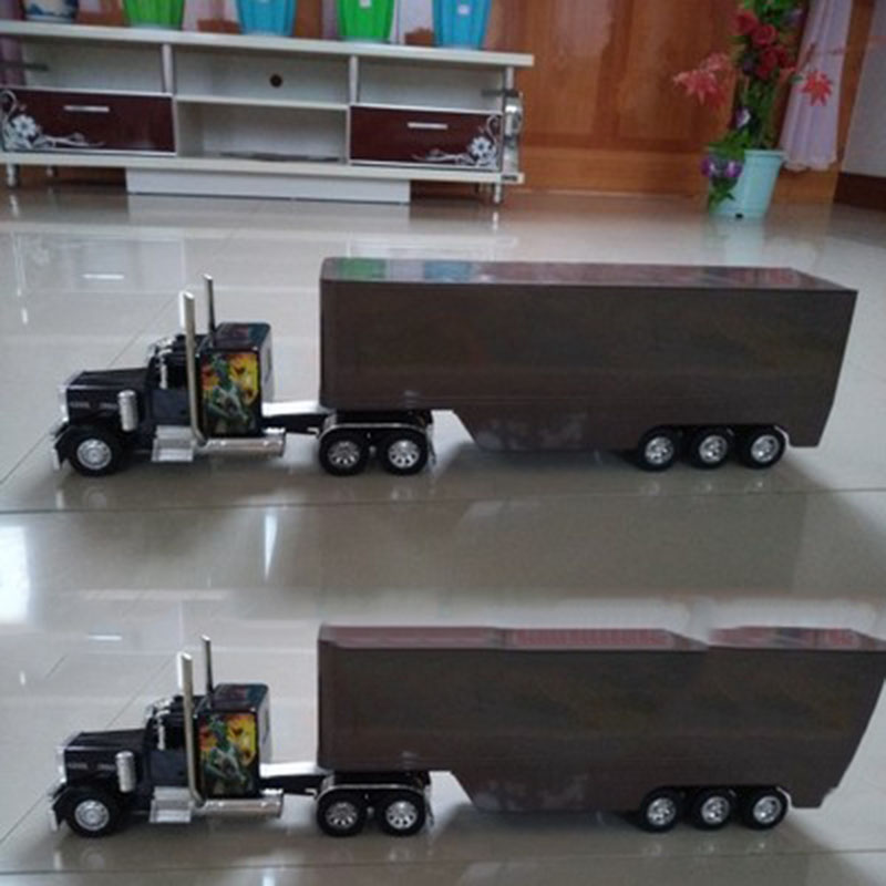 38cm 1/32 Scale Truck Model Modification Accessories Trailer Car Vehicle Traffic Tools Display Plastic Toys Fans Gift Collection