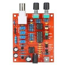 KKmoon Высокая точность функция генератор сигналов DIY Kit квадратный/треугольник/синусоида diy части источник сигнала компоненты