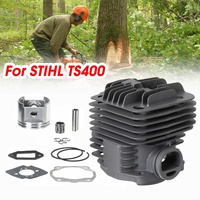 Cylinder For Grass Trimmer Piston Set Bearing Top End Rebuild Kit Cylinder Tools Brush Cutter Chain Spare Parts For STIHL TS400