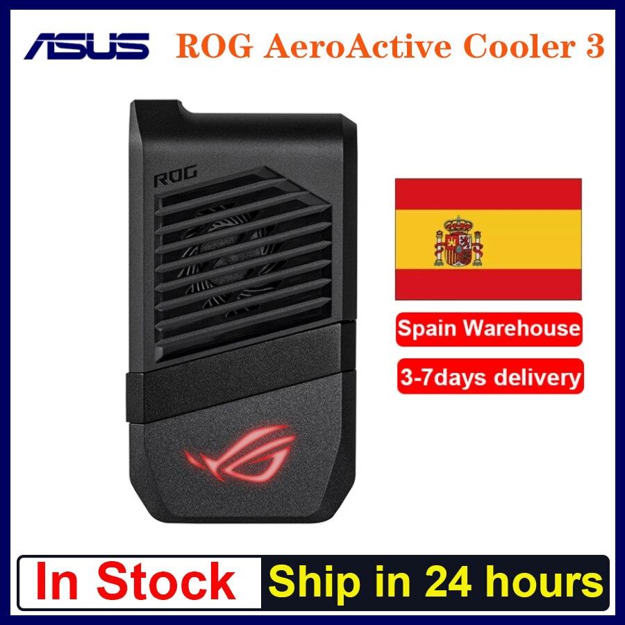 В наличии ROG AeroActive охладитель 3/5 для ASUS ROG phone 3 ROG 5 смартфон Вентилятор охлаждения держатель игровая мышь Anti-нагрев адаптера ROG phone 3
