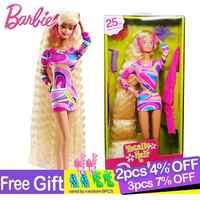 Barbie boneca original marca collectible boneca ballet desejo boneca brinquedo princesa menina presente de aniversário menina brinquedos presente boneca brinquedos