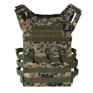 Image 4 - Тактический бронежилет JPC Molle для переноски тарелок, военное снаряжение, армейский охотничий жилет, уличный жилет для пейнтбола, CS Wargame, страйкбола
