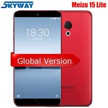 Meizu 15 Lite M15, 4 Гб ОЗУ, 32 Гб ПЗУ, Восьмиядерный процессор Snapdragon 626, 5,46 дюймов, 1920x1080 P, 20 МП, определение отпечатка пальца, быстрое зарядное устройство для мобильного телефона