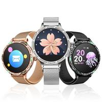 M9 Smart Watch Color Screen Sport Tracker IP68 Waterproof Heart Rate Blood Pressure Female Physiological Period Reminder