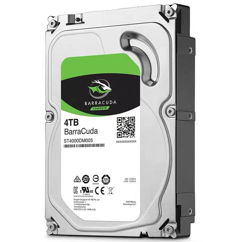 """New HDD For Seagate Brand BarraCuda 4TB 3.5"""" SATA 6 Gb/s 256MB 5400RPM For Internal Hard Disk For Monitoring HDD For ST4000DM004 5"""