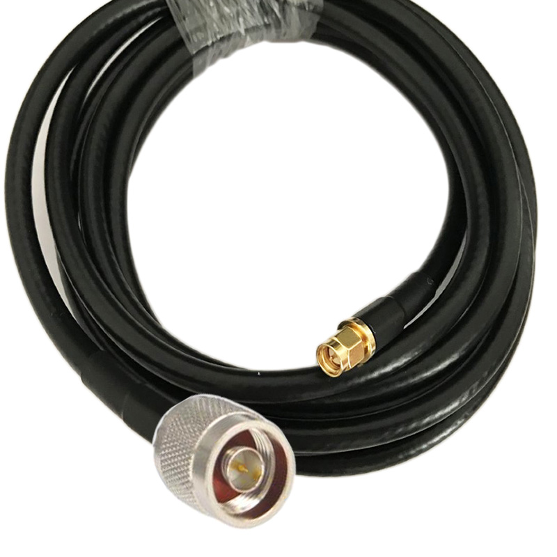 SMA Male To N Male Connector 5D-FB 50-5 Coaxial Cable RF Adapter Cable 50Ohm  1/2/3m 5m 10m 15m
