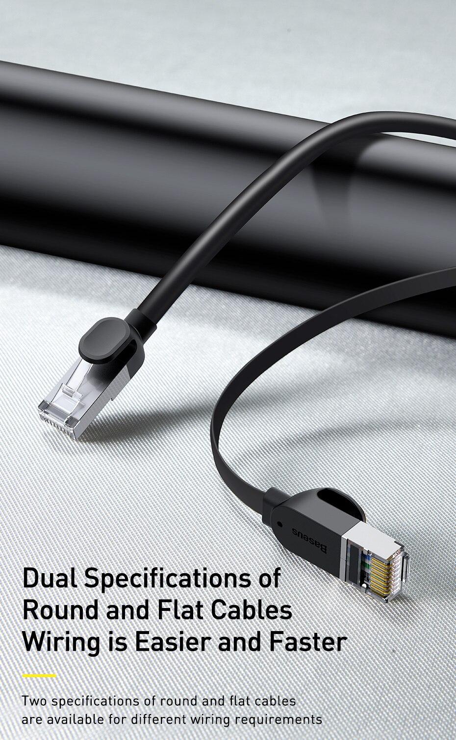 Baseus Ethernet Cable Cat6 RJ45 Gigabit Network Cable