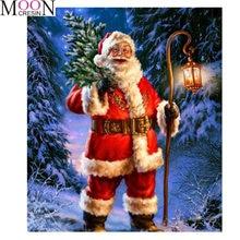Алмазная 5d картина «сделай сам» с Санта Клаусом бриллиантовая