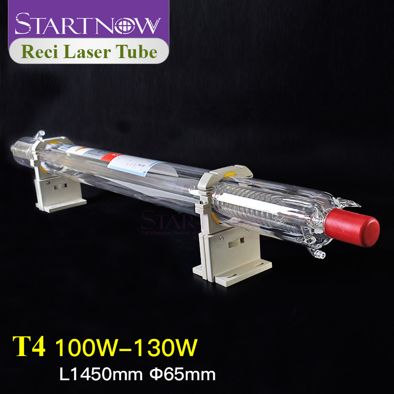 Startnow Reci T4 100W CO2 Laser Tube Wooden Case Box Packing Dia. 65mm For CO2 Laser Engraving Cutting Machine  Z4