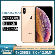 Verwendet Entsperrt Original iPhone XS max Handys 6,5-zoll Smartphones Telefon Mit Hexa-core und Volle Bildschirm handys