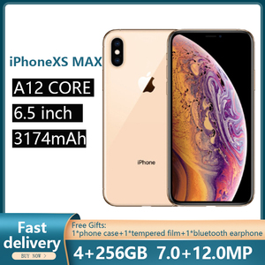 Used Unlocked Original iPhone XS max Cell Phones 6.5-inch Smartphones Phone With Hexa-core and Full Screen Mobile Phones