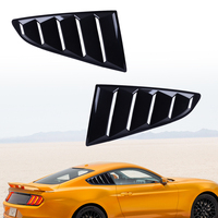 CITALL пара ABS авто боковое вентиляционное окно 1/4 четверти Совок жалюзи крышка отделка Подходит для Ford Mustang 2015 2016 2017