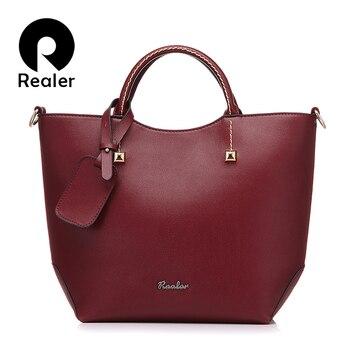 REALER Large Bucket Handbag