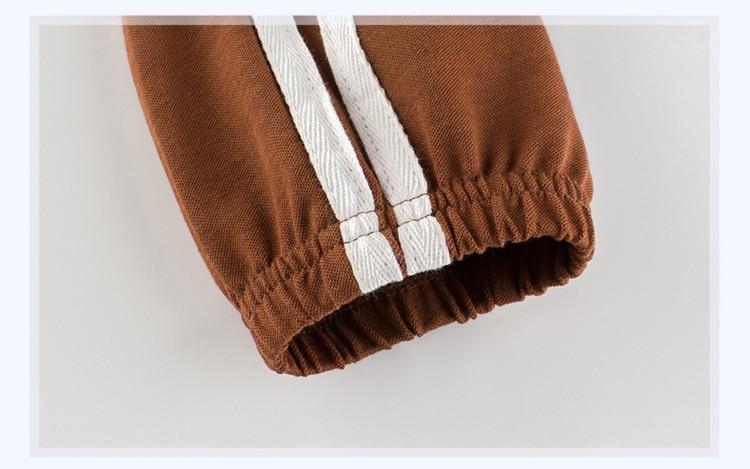 Children's School Sports Pants 19 New Girls pants Autumn Boys sports Trousers Girls Baby Cotton Stripes Leggings 10