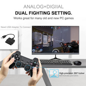 Image 3 - สำหรับSONY PS2 Wireless ControllerบลูทูธGamepadสำหรับPlay Station 2จอยสติ๊กคอนโซลสำหรับDualshock 2สีโปร่งใส