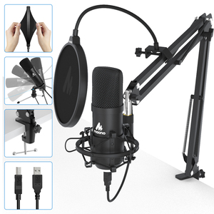 Image 2 - MAONO A04Plus USB Microphone Cardioid Condenser Podcast Microfono 192kHz/24bit Plug and Play With for Livestreaming YouTube ASMR