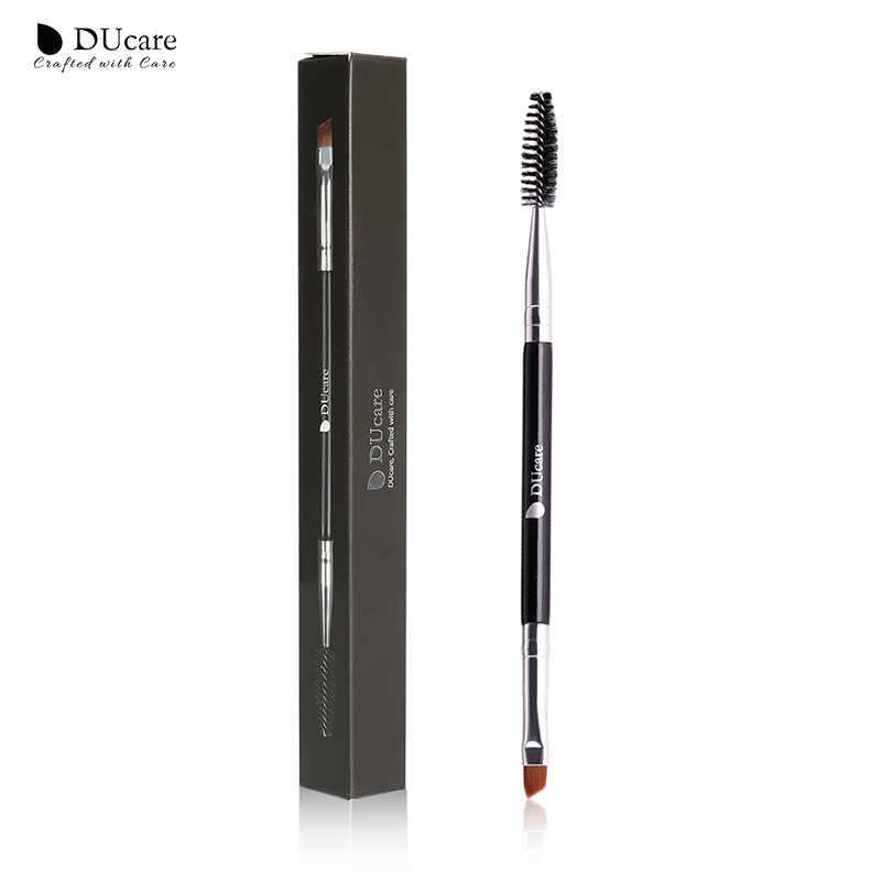 Ducare Wenkbrauw Borstel + Wenkbrauw Kam Beauty Wenkbrauw Borstel Professionele Make-Up Kwasten Voor Eye Brow Brush Blending Eye Makeup Tools