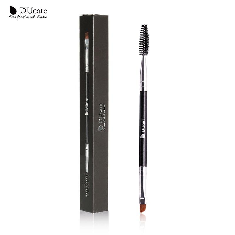 DUcare Eyebrow Brush+Eyebrow Comb Beauty Essential Eyebrow Makeup Brushes Professional Eye Brow Brush Blending Eye
