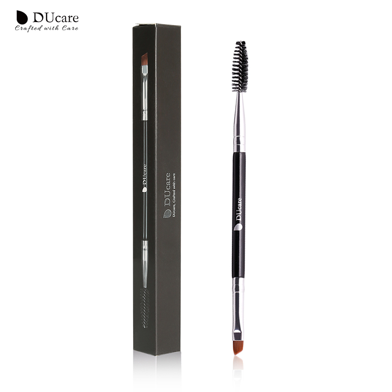 DUcare Eyebrow Brush+Eyebrow Comb Beauty Essential Eyebrow Brush Professional Makeup Brushes For Eye Brow Brush Blending Eye