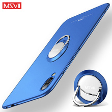For Xiaomi Mi A3/A2 Lite Case Msvii Ring PC Slim Matte Xiami