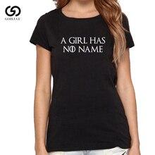 цена A Girl Has No Name Letter Print T Shirt Women Short Sleeve O Neck Loose Tshirt онлайн в 2017 году