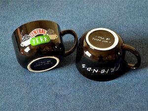 Image 3 - 新ブラック 600 ミリリットルフレンズテレビ番組シリーズセントラルパークセラミックコーヒーティーカップマグ