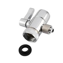 Горячая PV10 хром латунь полированный переключатель для кухни или ванной комнаты раковина кран запасная часть M22 X M24