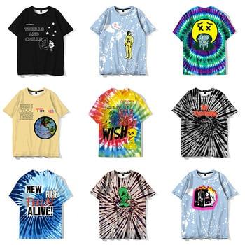 Scott astroworld fans new fashion funny T-shirts mens hip-hop informal clothes Hippie t-shirts