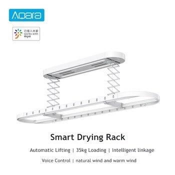 Aqara умная сушильная стойка с дистанционным управлением, автоматическая подъемная воздушная Крытая 35 кг загрузка Mi Home APP, интеллектуальное у...