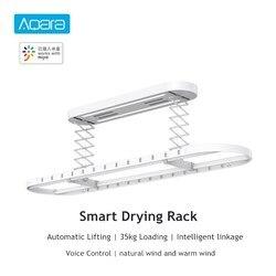 Aqara Smart Drying Rack Remote Control Automatic Lifting Air Indoor 35kg Loading Mi Home APP Intelligent Linkage Control
