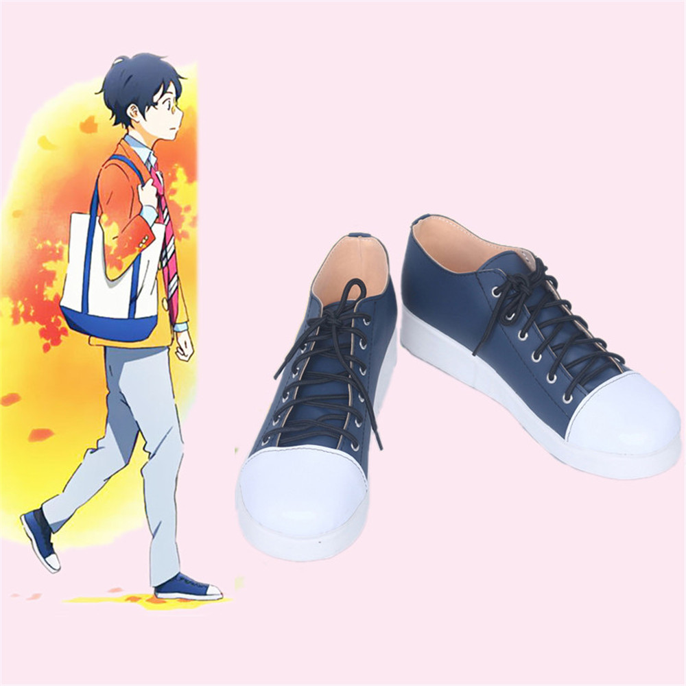 Shoes Costume-Props Your-Lie April Carnival-Purim Halloween Japanese Arima Kousei Cosplay