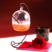 Free Shipping 2PCS Creative Water Cup New Cocktail Hanging Glass Hanging Bottle Bar Wine Cup Drinking Cup Set of 2(China)