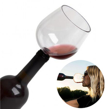 Red Wine Glass with Silicome Seal Drink Directly from Bottle Barware Transparent Decanter Cup Packed In