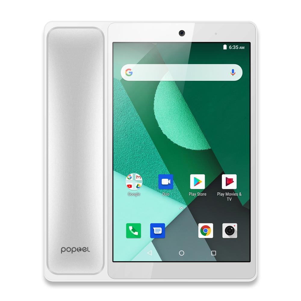 POPTEL V9 8.0 Inch Smarthone 2GB RAM 16GB ROM Android 8.1 SC9832E Quad Core 5MP OTA OTG Table LTE 4G  MObile Phone