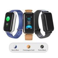 T89 inteligentne bransoletka bezprzewodowa bezprzewodowa 5.0 słuchawki douszne pulsometr Talk Band bransoletka do zegarka mężczyzna kobiet w Inteligentne zegarki od Elektronika użytkowa na
