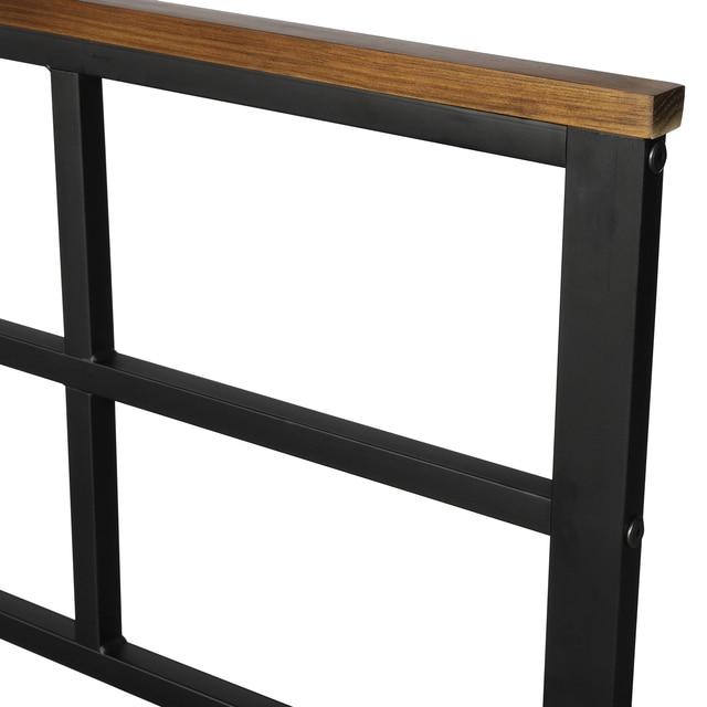 Metal Platform Bed Frames w/ Headboard & Footboard 6