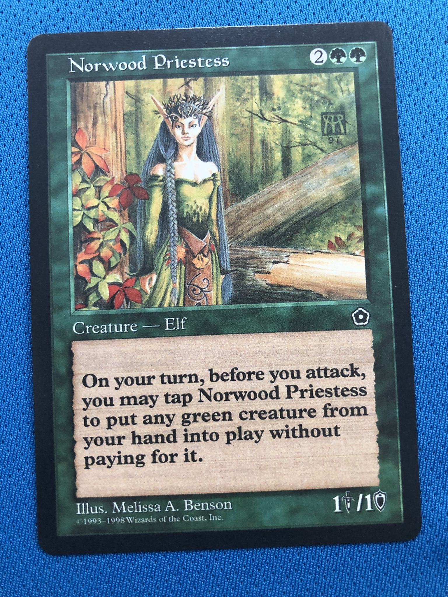 Norwood Priestess 	Portal Second Age Magician ProxyKing 8.0 VIP The Proxy Cards To Gathering Every Single Mg Card.