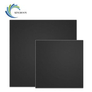 Image 2 - KINGROON 3D Drucker Ultrabase Erhitzt Bett Bauen Oberfläche Glas Platte 310*310*4mm/235*235*4mm/220*220*4mm 3D Drucker Teile Heißer bett