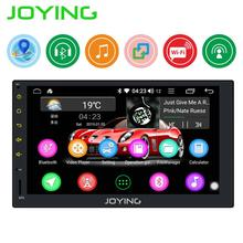 Автомобильный радиоприемник JOYING, Android 8,1, 2 din, 1 ГБ ОЗУ 16 Гб ОЗУ, головное устройство 7 дюймов, поддержка камеры заднего вида/SWC/Mirror link, GPS навигация