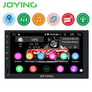 "Image 1 - JOYING Android 8.1 2 din 자동차 라디오 플레이어 1GB RAM 16GB RAM 7 ""헤드 유닛 지원 후면보기 카메라/SWC/미러 링크 GPS 네비게이션"
