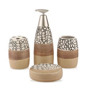 4PCS/Set Ceramic Bathroom Sets