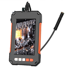 P40 Industrial Endoscope HD 1080P Car Repair Borescope Inspection Camera Color LCD Screen Snake Camera with Dimmable Lights