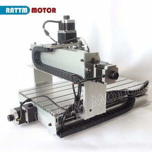 Image 4 - RU เรือเดสก์ท็อป 3 แกน CNC 3040Z DQ 300W แกน Ballscrew CNC ROUTER แกะสลัก/แกะสลักเครื่องกัดเจาะ 220 v/110 V