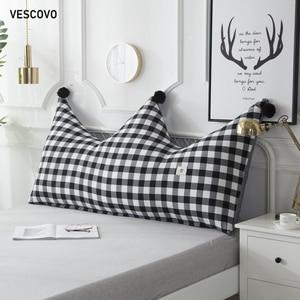 Image 2 - VESCOVO children room twin queen long pillow soft cushion big backrest pillow 180cm