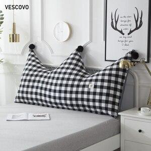 Image 2 - VESCOVO ילדי חדר twin מלכת ארוך כרית רך כרית גדול משענת כרית 180cm