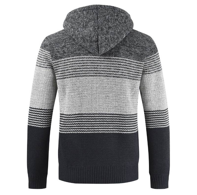 Thick Warm Hooded Cardigan Sweater 17
