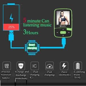 Image 3 - New Arrival Original RUIZU X50 Sport Bluetooth MP3 Player 8gb Clip Mini with Screen Support FM,Recording,E Book,Clock,Pedometer